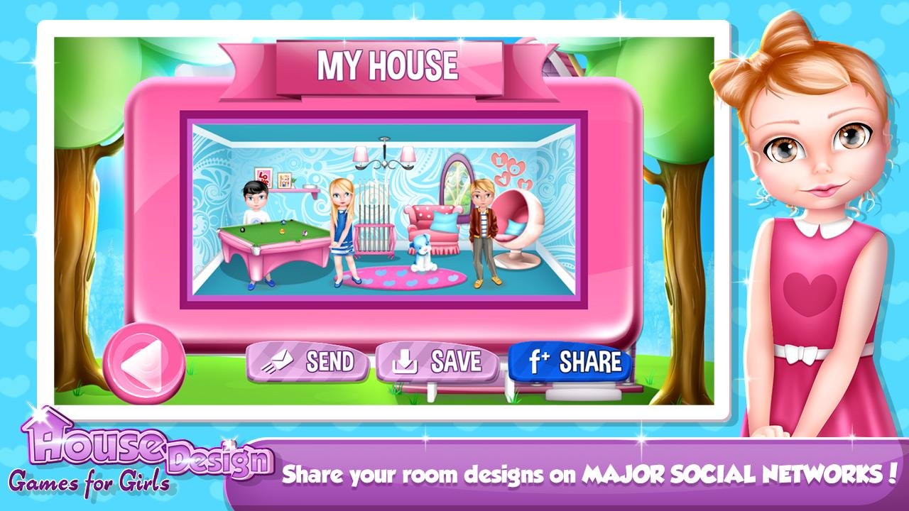 house design and decoration games screenshot