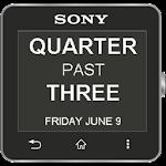 Smartwatch Text Clock 1.1.1