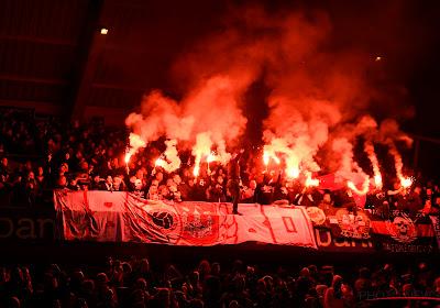 🎥 L'incroyable pyrotechnie des supporters du Hajduk Split pour les 70 ans de leur groupe