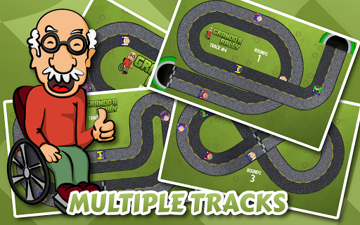 爺爺拉力賽 - 瘋狂崩潰|玩賽車遊戲App免費|玩APPs