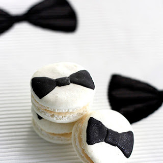 Bow Tie Macarons