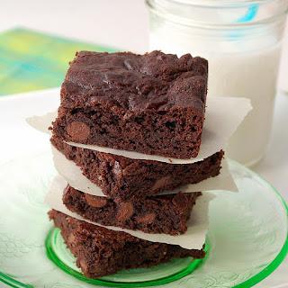 Gluten-Free Double Chocolate Brownies