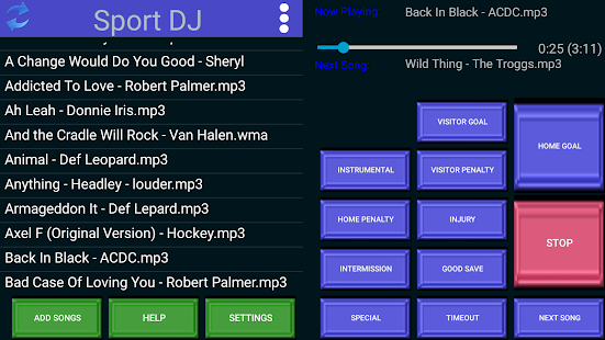 Sport DJ- screenshot thumbnail