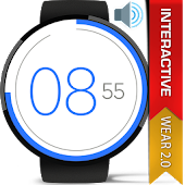 Watch Face - Flat Interactive