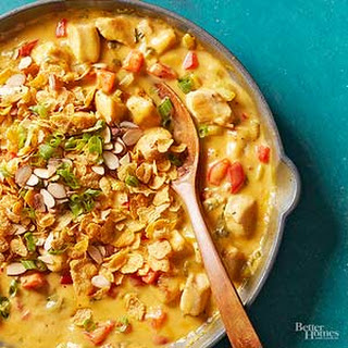Hot Chicken Salad Skillet Casserole.