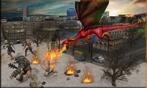 Fire Breather Hero Transform Dragon 1.2 screenshots 2