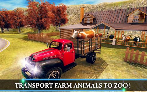Wild Animal Transporter Truck Simulator Games 2018 screenshots 14
