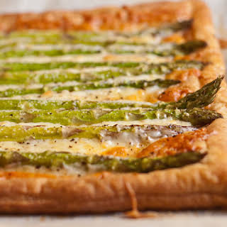Asparagus and Gruyère Tart.