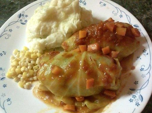 Golabki (stuffed Cabbage Rolls) Recipe