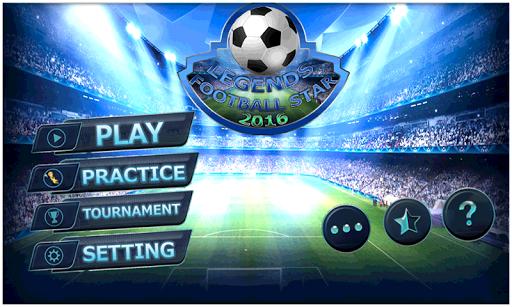 無料体育竞技Appの伝説:サッカースター2016 HotApp4Game
