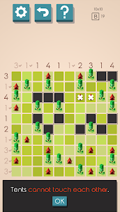 Tents and Trees Puzzles 2