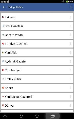 android Türkiye Haber Screenshot 10