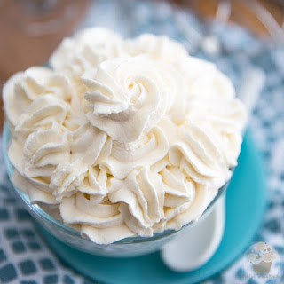 Perfect Chantilly Whipped Cream.