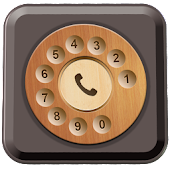 Rotary Old Phone Dialer Keypad