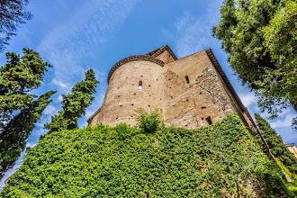 Photo: Old part of Villa d'Este in Tivoli, Lazio, Italy