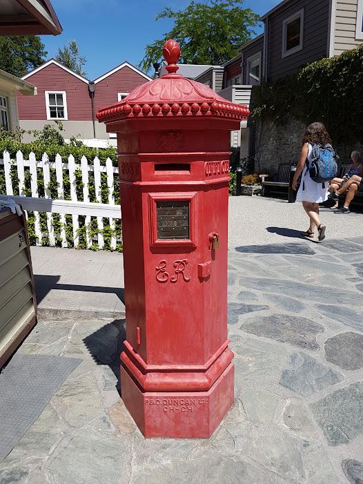 Arrowtown post box