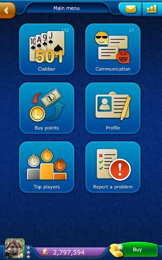 Clabber LiveGames - free online card game screenshots 15