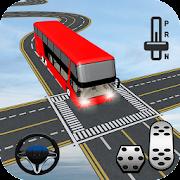 Unmöglich Bus Stunts Fahrer - Lenkung Spiele