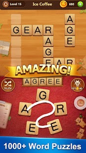 Word Cafe - Search & Crossword Game - náhled
