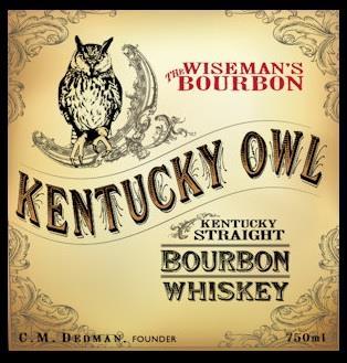 Logo for Kentucky Owl Confiscated Bourbon