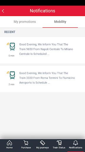 Trenitalia screenshot 4