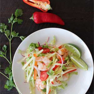 Tasty Thai Shrimp Salad