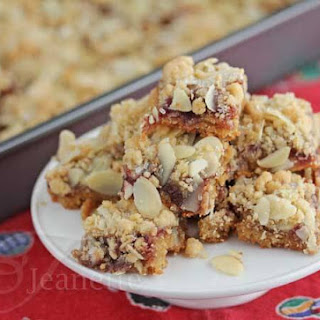 Gluten-Free (Dairy-Free) Raspberry Almond Bar