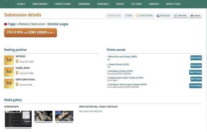 MSI phá vỡ kỷ lục thế giới về bộ nhớ DDR4 với mainboard Z170I GAMING PRO AC