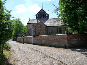 Photo: Church Lane from by the car park