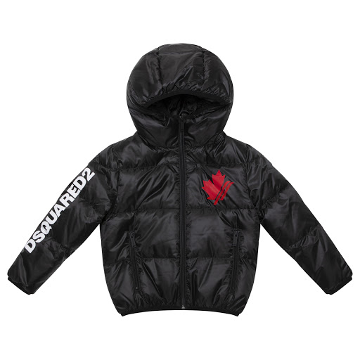 Primary image of DSQUARED2 Maple Leaf Puffer Jacket