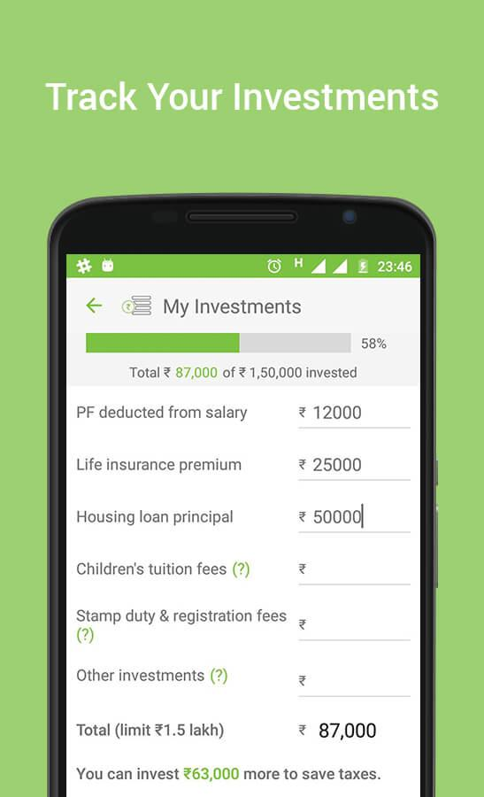 TaxChat - Income Tax e-Filing- screenshot