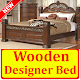 Download Wooden Designer Bed For PC Windows and Mac