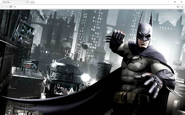 Batman New Tab Page