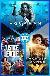 Aquaman/Justice League/Wonder Woman 3-Film Collection