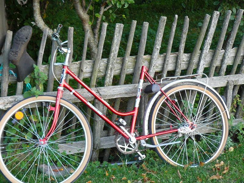Велосипед на ограда - кв. Езерово, Смолян