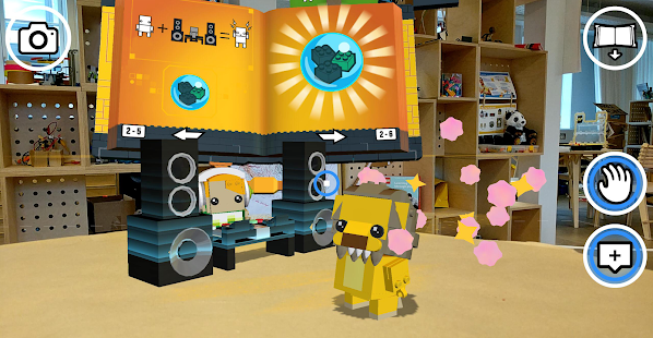 LEGO® BrickHeadz Builder AR Screenshot