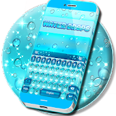 Water Drops Keyboard Theme