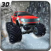 Snow Hill Climb Monster Trucks