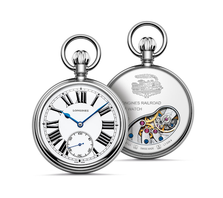 49.5mm RailRoad Pocket Watch