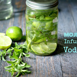 Mojito Infused Vodka.