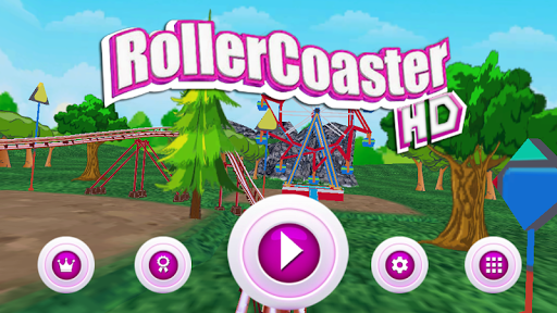 Roller Coaster Simulator HD  screenshots 1