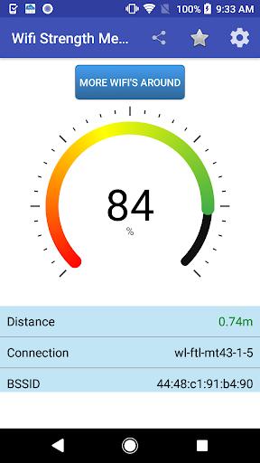 Wifi Signal Strength Meter screenshots 1