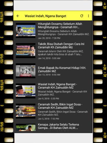 ceramah KH Zainudin MZ 1.0 screenshots 3