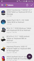 Screenshot of Tech Deals