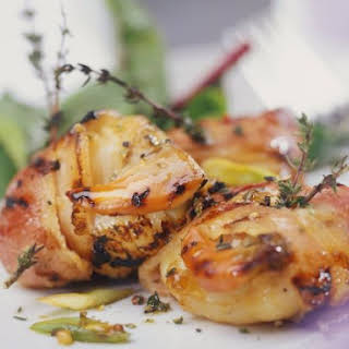 Thyme and Bacon Scallops.