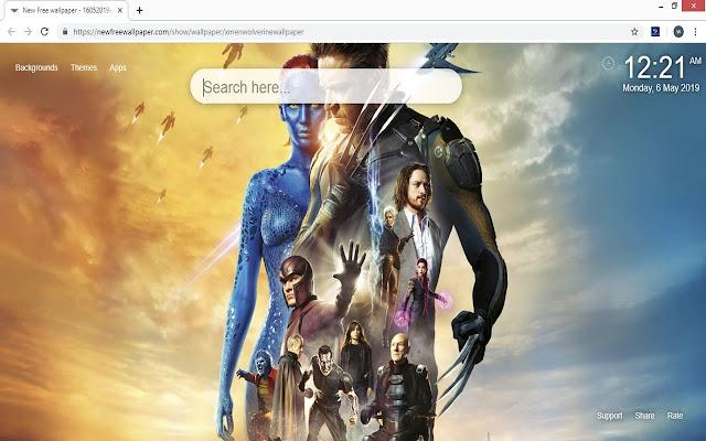 X Men Wolverine HD Wallpaper Marvel New Tab
