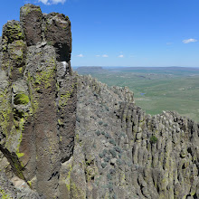 Photo: View of Crown Butte from near the top of Birdtail