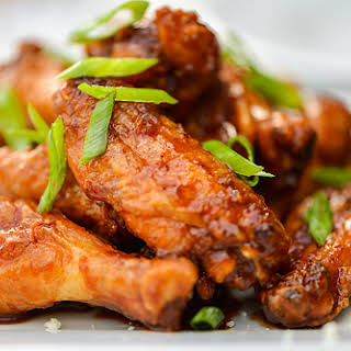 Sweet and Spicy Korean Chicken Wings.