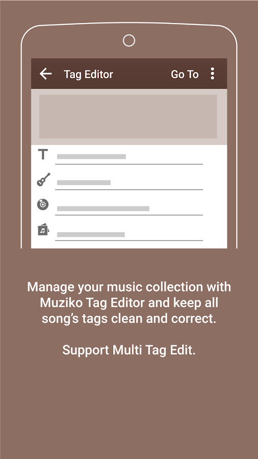 Muziko Music Player- screenshot