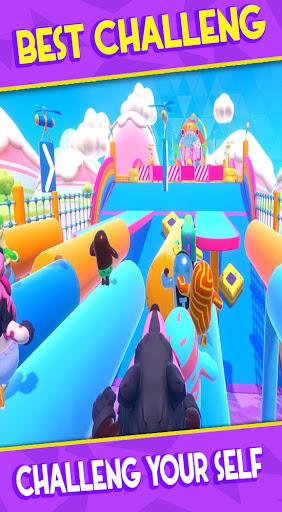 Fall Boys : KnocKout Royale Race 3D screenshot 3